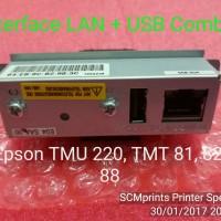 Interface USB + LAN / Combo Epson TMU 220 / TM U220B / U220D Network