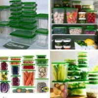 Ikea Pruta Food Container hijau
