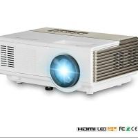 Jual Proyektor Murah Profesional Mini Led Projector 1500 Lumens + TV Tuner Murah
