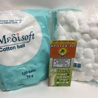 Jual Medisoft Cotton Ball / Kapas bulat bayi Murah