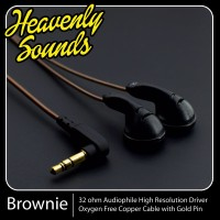 Heavenly Sounds Brownie, DIY YUIN 32 Ohm earbuds for Audiophile Vocal