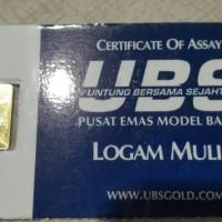 logam mulia Emas 1 gram UBS 99.999%