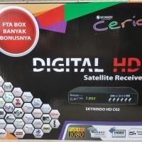 Reciever Skynindo Ceria HD C02 Gratis pkt Family 1 thn