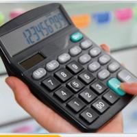 KT554 Kalkulator Meja 12 Digital Display