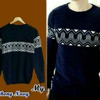 anthony navy sweater