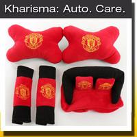 Jual Special Sale Car Set Tempat Tissue Tisu Bantal Mobil Manchester United Murah
