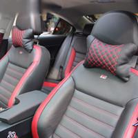 Jual (Ready) Car Set Exclusive - Bantal Mobil Kulit Murah