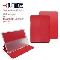 Samsung Galaxy Tab 2 10 Inch / P5100 Leather Case Flip UME Book Cover