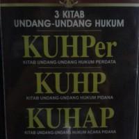 Buku 3 Kitab Undang-Undang Hukum KUHPer,KUHP, KUHAP