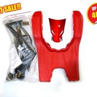 harga (Beat Karburator) Paket Aksesoris / Body Kit Macho Black Red Honda Tokopedia.com