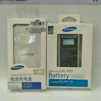 Baterai Samsung Galaxy S5 G900 Original Battery Kit Destop Charger