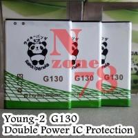 Baterai Samsung Galaxy Young-2 G130 Rakkipanda Double Power