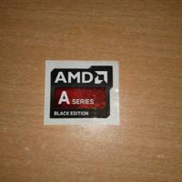 Stiker AMD A Series