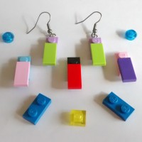 Anting Lego / Fish Hook Lego Earring Type 2