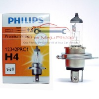 Jual Bohlam Halogen H4 Philips 12V 60/55W P43T Lampu Depan Headlights Mobil Murah