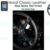 Stir NARDI Classic Leather Black Spoke Original Italy Ori Itali