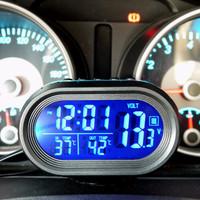 Jual Jual Jam Thermometer Suhu Indoor Outdoor Sensor Digital Mobil Suhu Murah