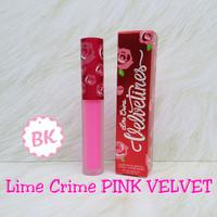 Lime Crime Velvetines Warna PINK VELVET Lime cream