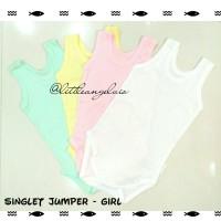 Jual GIRL - Singlet Jumper Bayi kaos Little Q - SNI RESMI Murah