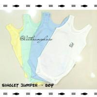 Jual BOY - Singlet Jumper Bayi kaos Little Q - SNI RESMI Murah
