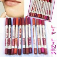 TRUE LIPS - Lip Liner Pencil / Pensil Garis Bibir Menow / MN / Me Now