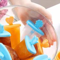 Jual Cetakan Es Loli/Cetakan Es Lilin Bentuk Kotak(8 Kotak)Termasuk Gagang Murah
