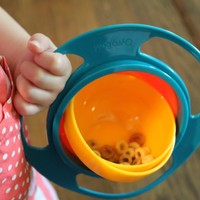 Jual Gyro Bowl | Mangkok Anti Tumpah | Tempat Makan Aman Untuk Anak Murah