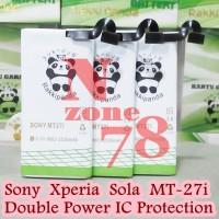 harga Baterai Sony Xperia Sola Mt-27 Mt27 Mt 27 Rakkipanda Double Power Tokopedia.com