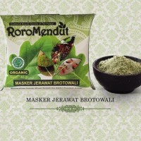 Masker Jerawat Brotowali - RORO MENDUT | roromendut