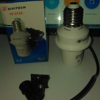 Fitting Lampu Otomatis Sensor Cahaya