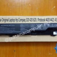 Baterai Original Laptop Hp Compaq 320 420 620 / Probook 4420 4421 4320