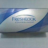 softlens disposable warna True Sapphire bulanan Freshlook Colorblends