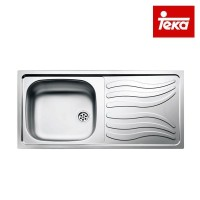 Kitchen Sink Teka Tipe Napea 1B 1D Stainless Steel