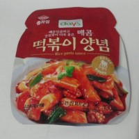 Days Chongga Yopokki Tteok Rice Pasta Sauce Saus Bumbu Kue Beras Korea