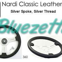 Stir NARDI Classic Leather White Spoke Original Italy Ori Itali
