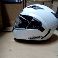 Helm INK Aventure White Full Modular Fullface Flip up