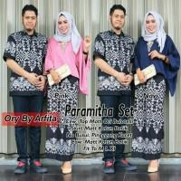 pusat grosir baju paramitha couple suami istri balotelly katun batik