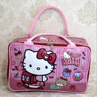 tas koper traveling anak bayi karakter import super HELLO KITTY