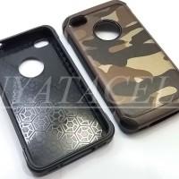 Case Army Iphone 4 4G 4S Soft+Hard Slim Back Cover/Spigen/Rugged/Armor