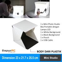 Studio Photo Box Mini Portable LED Light