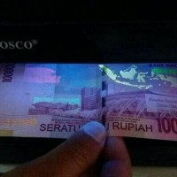 Jual ALAT TES UANG PALSU 4WATT /MONEY DETECTOR BISA PAKAI BATERAI Murah