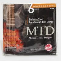 Senar Bass MTD Stainless Steel Roundwound 6 - Medium 30-130x strings