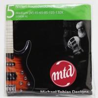 Senar Bass MTD Nickel Roundwound 5 - Medium 45-130 strings