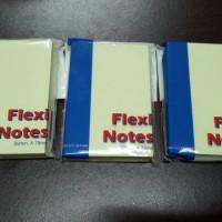 Memo sticky note/post it 50x75mm FLEXY Bantex