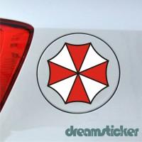 Sticker Stiker Tutup Tangki Mobil Umbrella Corporation