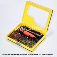 53 In 1 Multi-Purpose Precision Screwdriver Set Santus Jaminan Mutu