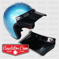harga Pet Duck Cap Topi Helm Retro Bogo Cargloss Moto Peak USA Fino Superman Tokopedia.com