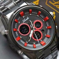 Jual jam tangan laki laki original bergaransi mirage alba bonia gucci Murah