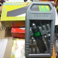 K# OBENG KETOK TEKIRO 11PCS / IMPACT DRIVER SET TEKIRO 11 PCS