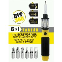 Obeng Multifungsi 6 In 1 Screwdriver BIT 360